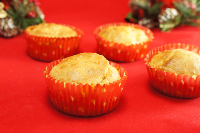 mini muffin pere e gorgonzola