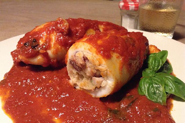 Calamari ripieni: la ricetta originale siciliana
