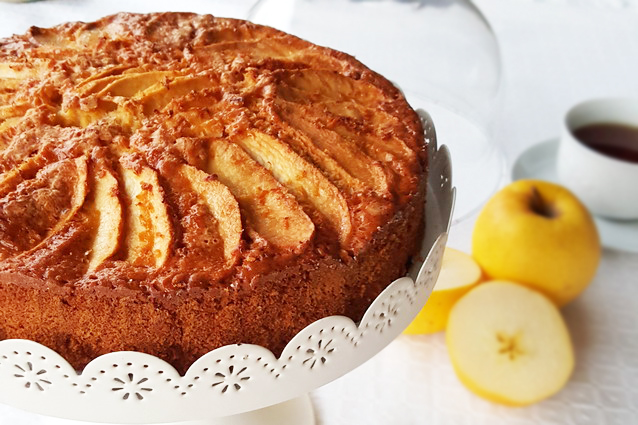 Torta di mele senza glutine: la ricetta per farla soffice