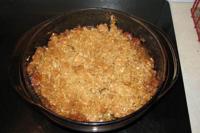 Apple crumble: come cuocere il dolce