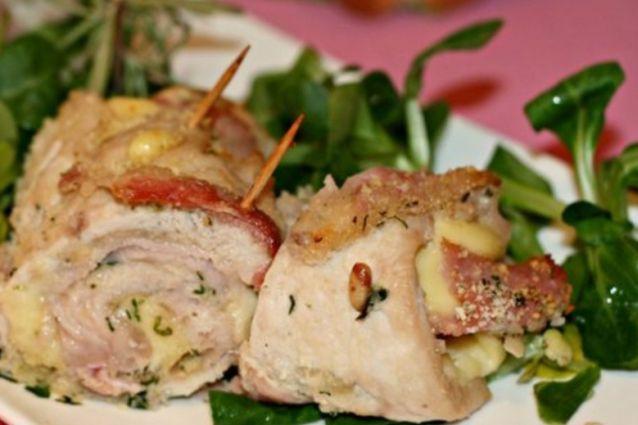 Involtini di pollo: la ricetta facile e veloce