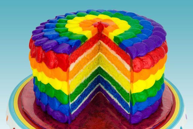 Torta arcobaleno: la ricetta originale del dolce più colorato del mondo
