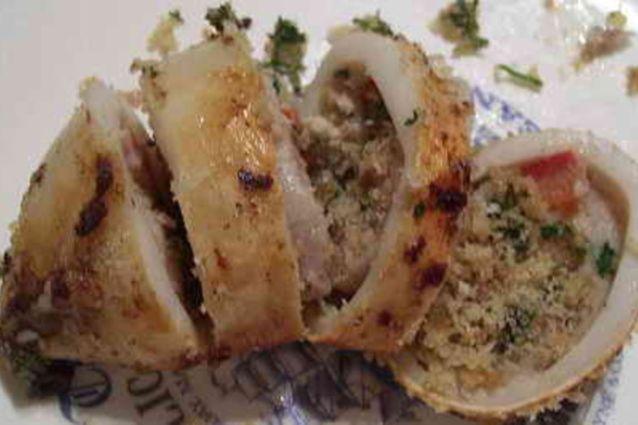 Totani ripieni: la ricetta del secondo piatto in bianco