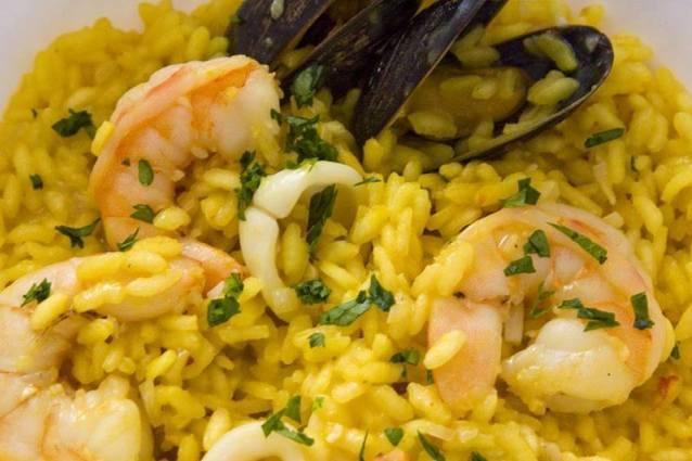 risotto-ai-frutti-di-mare-zafferano-ricetta