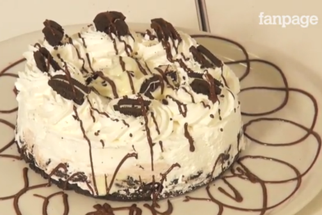 Torta Oreo: la ricetta della Oreo Dream Pie semplice e golosa senza cottura