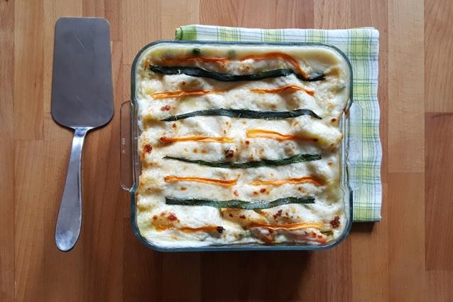 Lasagne bianche: la ricetta con zucchine e provola