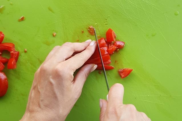 melanzane funghetto pomodoro