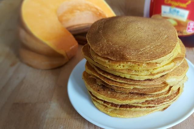 Pancakes salati alla zucca: la versione perfetta per l'autunno