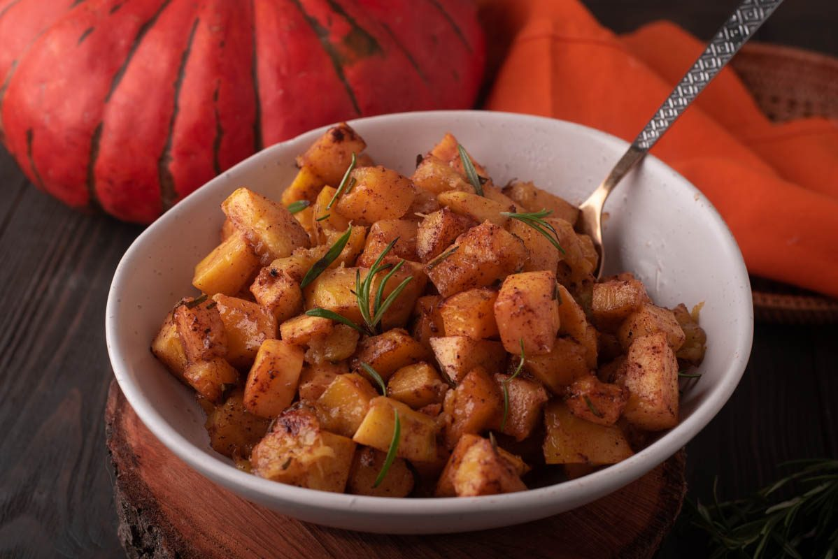 Ricetta Zucca Orientale.Zucca Al Forno Cucina Fanpage