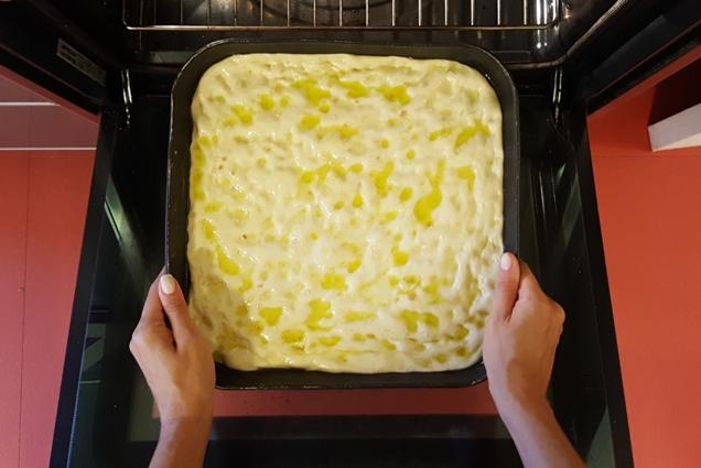 focaccia genovese forno
