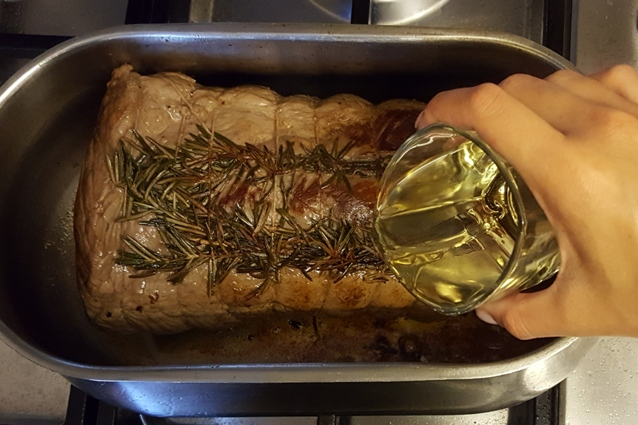 roast beef sfumare