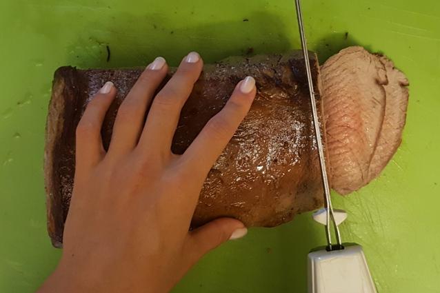 roast beef tagliare