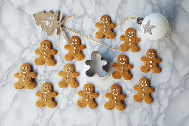 Biscotti di pan di zenzero: la ricetta originale dei gingerbread man