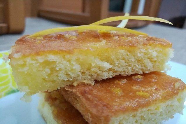 Brownies al limone: la ricetta facile da preparare