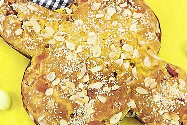 Colomba salata: la ricetta pasquale veloce e gustosa