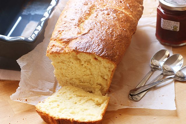 affettare pan brioche