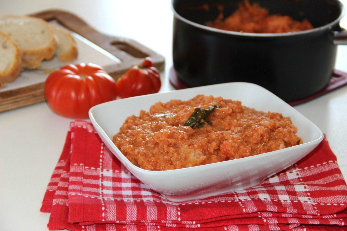 Pappa al pomodoro: la ricetta originale toscana veloce da fare