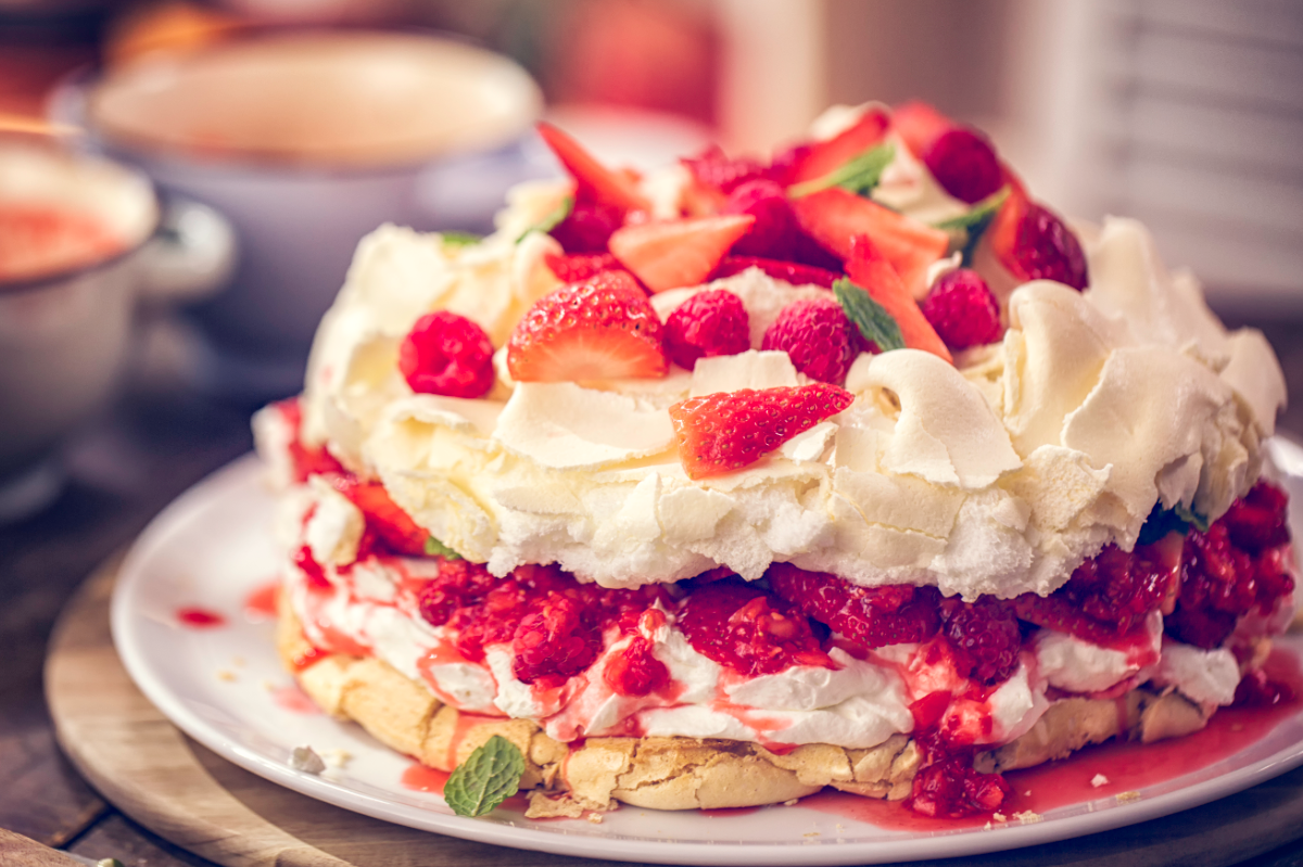 Pavlova: la ricetta originale del dolce ispirato ad una ballerina