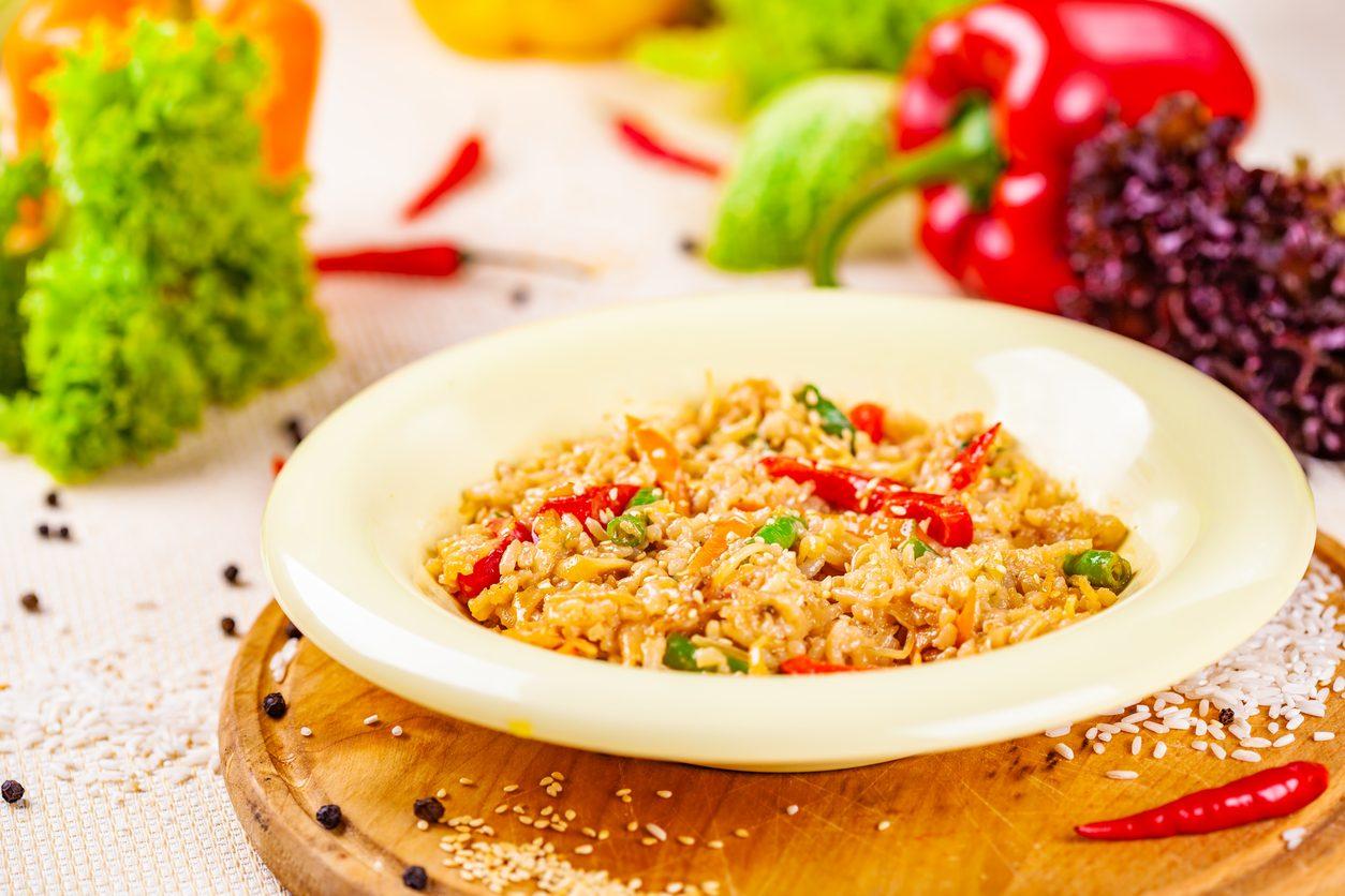Risotto ai peperoni: la ricetta semplice e cremosa, facilissima da realizzare