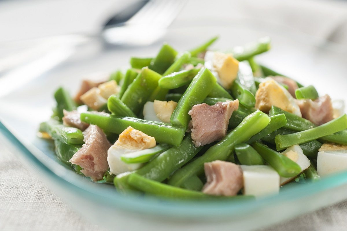 dieta di fagioli verdine