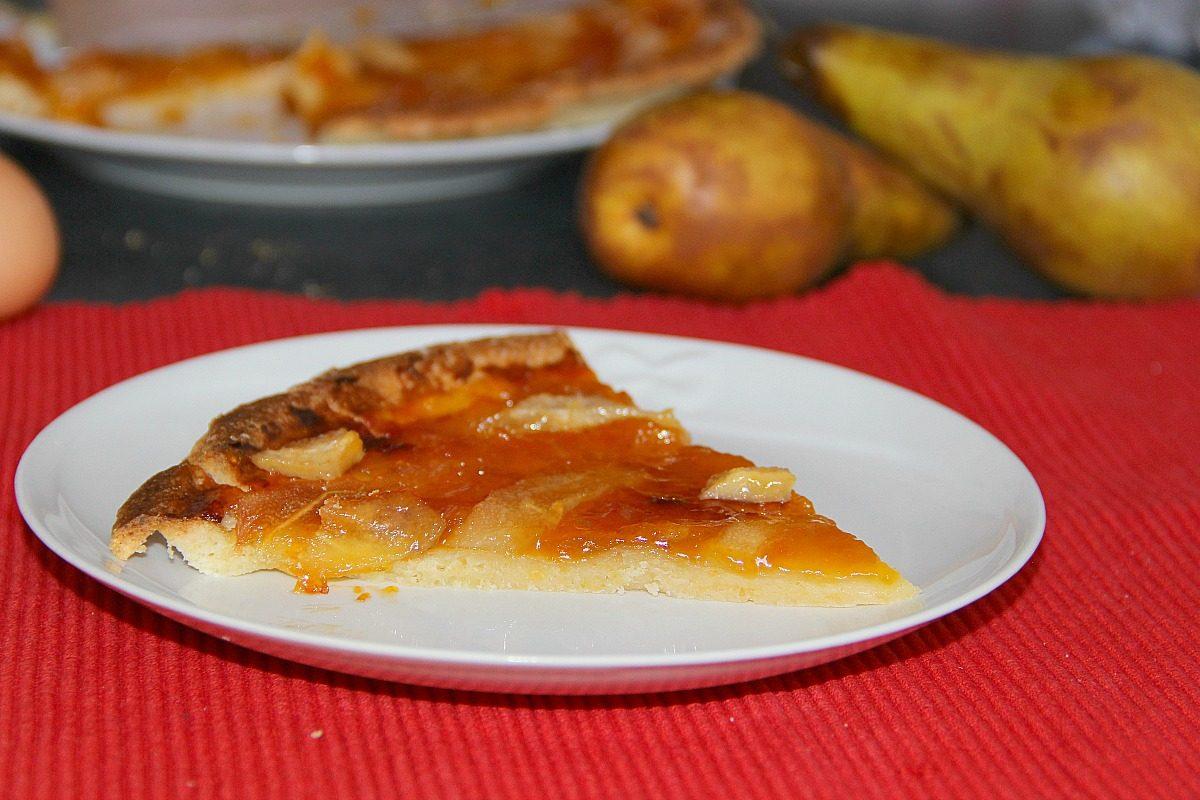 Crostata di pere: la ricetta del dolce invernale