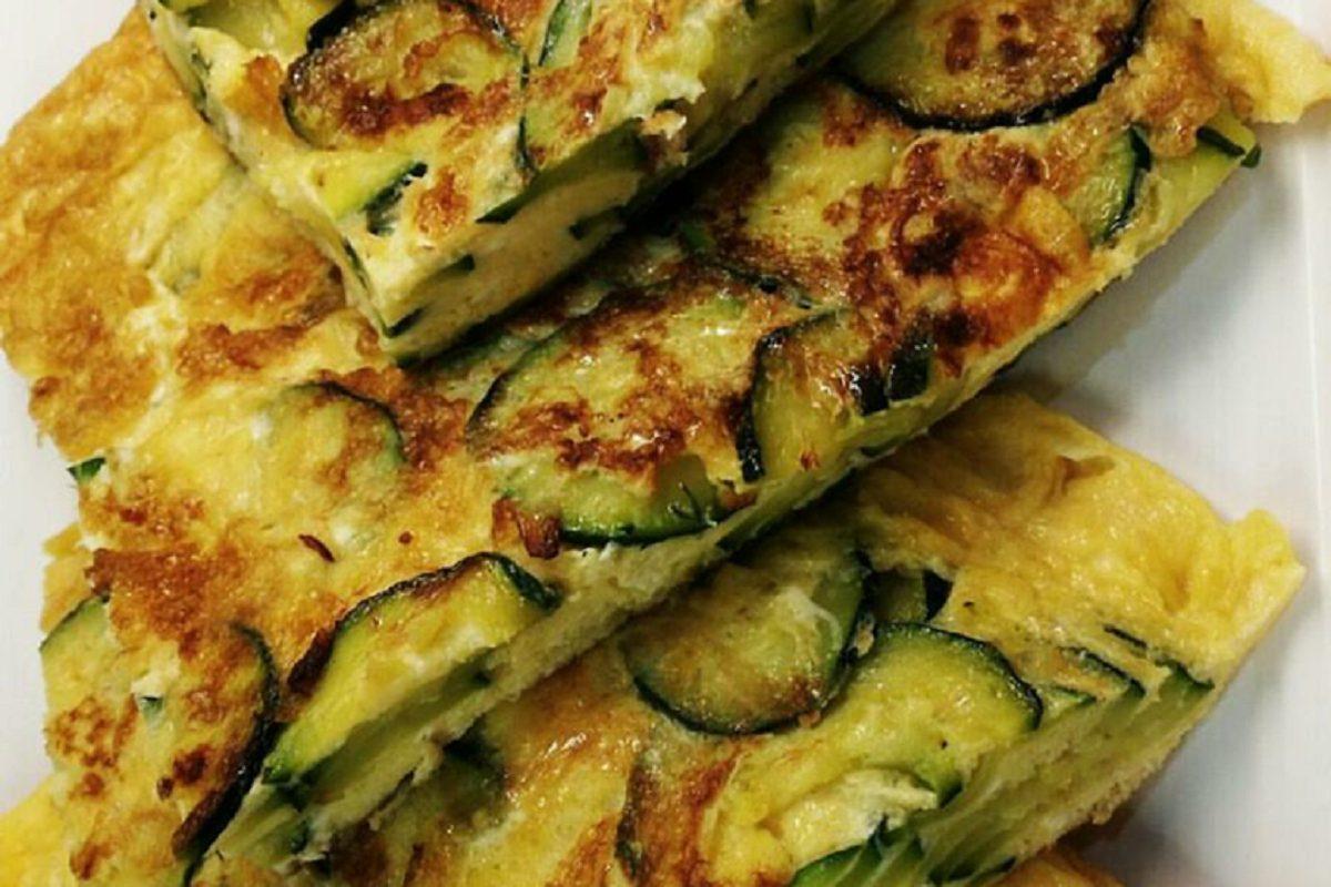 Frittata al forno con zucchine: la ricetta saporita e leggera