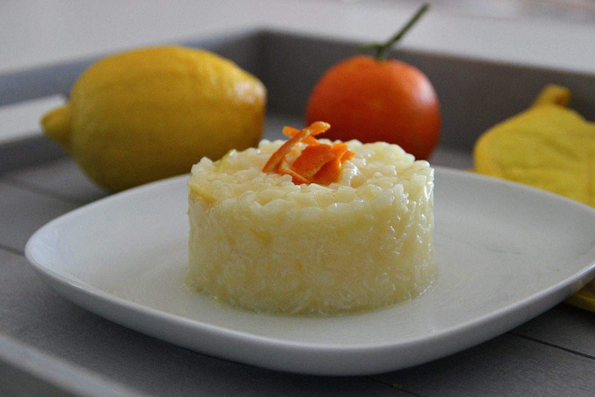 Risotto agli agrumi: la ricetta del primo piatto profumato