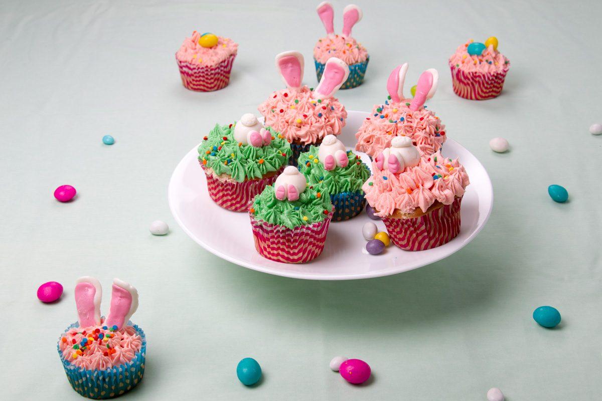 Cupcake coniglietti: la ricetta dei dolcetti perfetti per il giorno di Pasqua