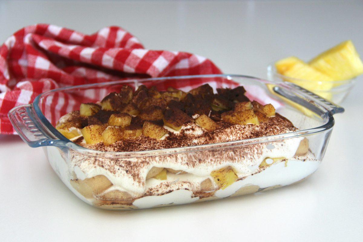Tiramisù all'ananas: la ricetta semplice e fresca