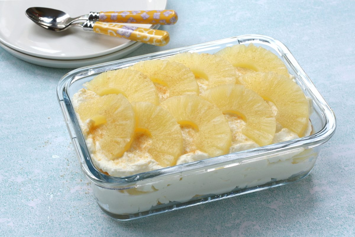 Tiramisù all'ananas: la ricetta del dessert cremoso e rinfrescante