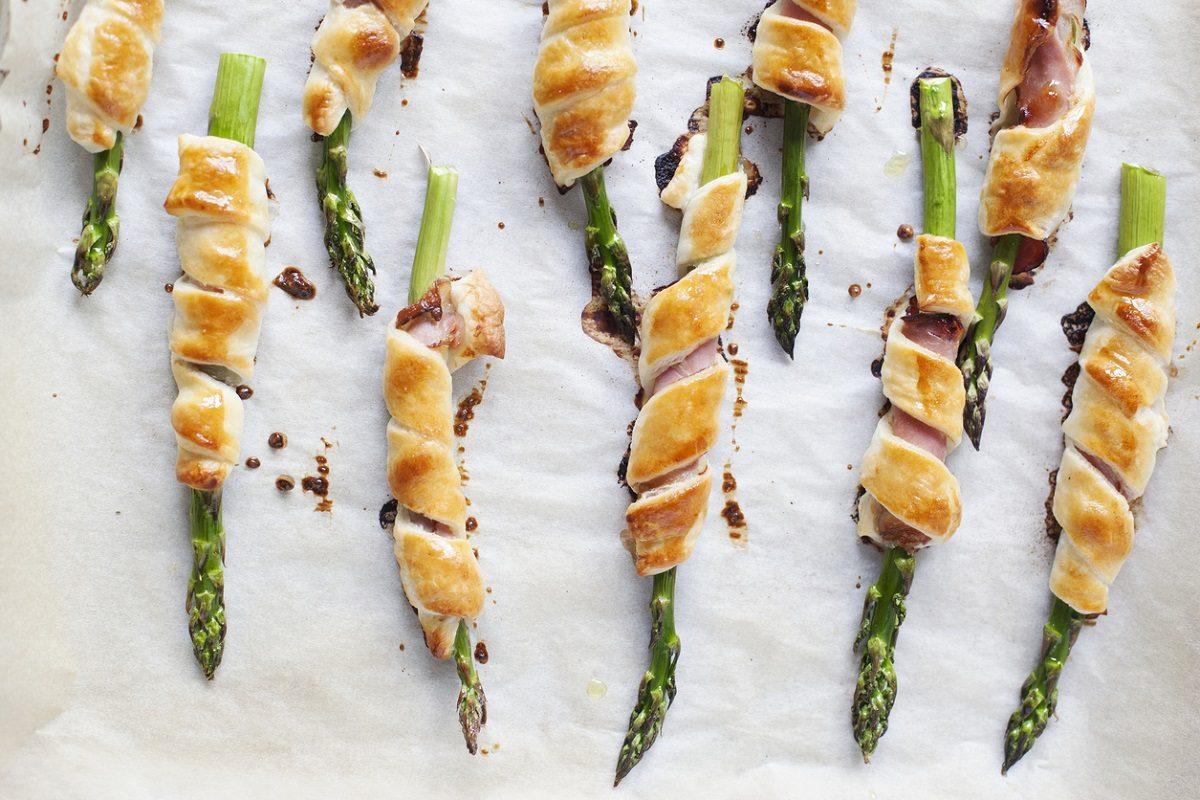 Asparagi in sfoglia: la ricetta dell'antipasto gustoso e stuzzicante