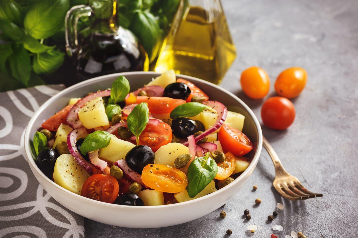 Insalata pantesca: la ricetta del piatto freddo tipico della Sicilia