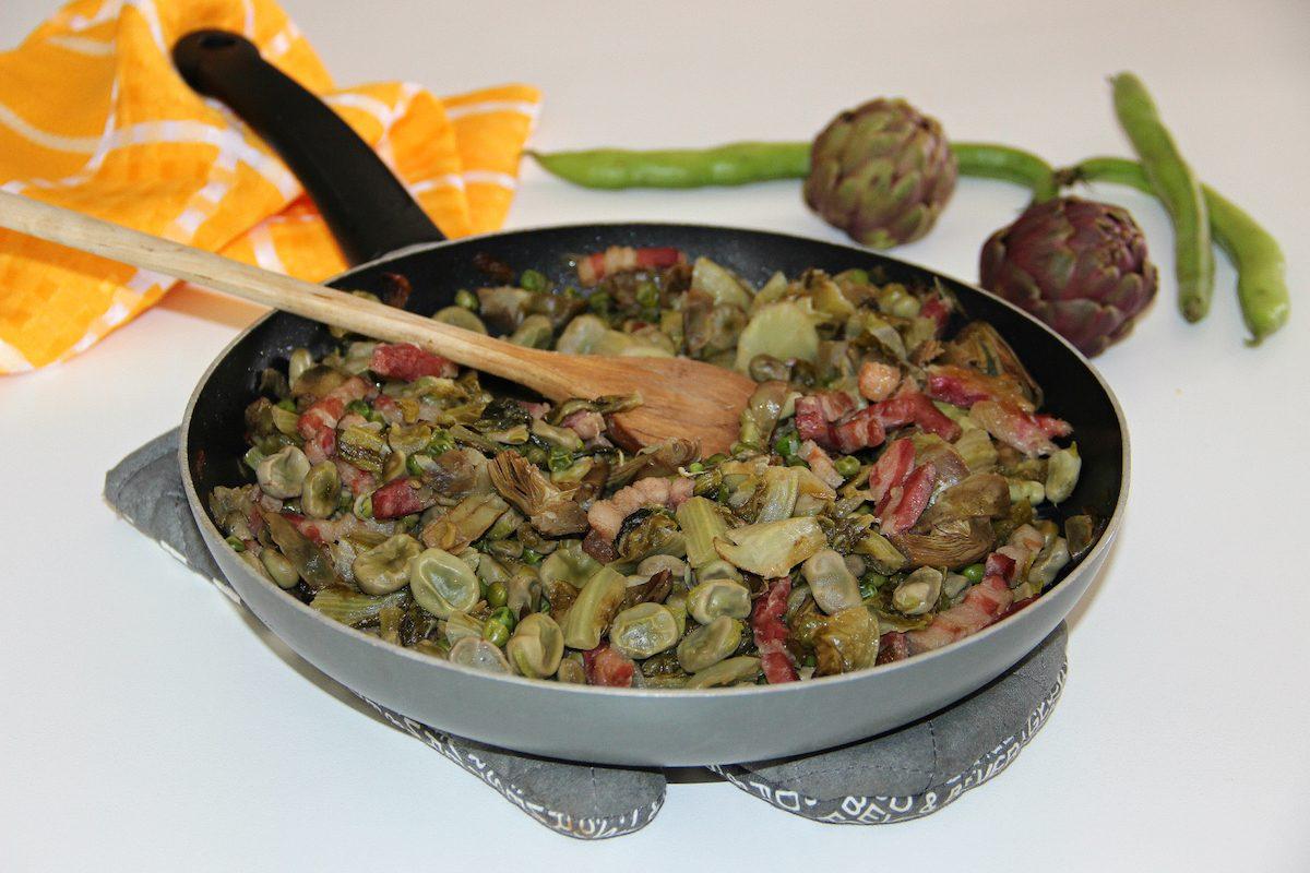 cucina romana: la vignarola