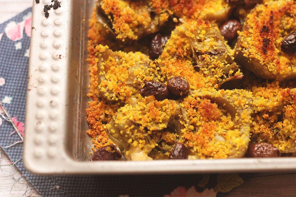 Carciofi al gratin: la ricetta saporita e particolare