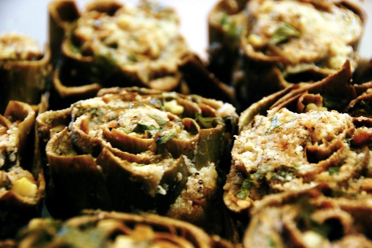 Carciofi al forno: la ricetta per farli gratinati
