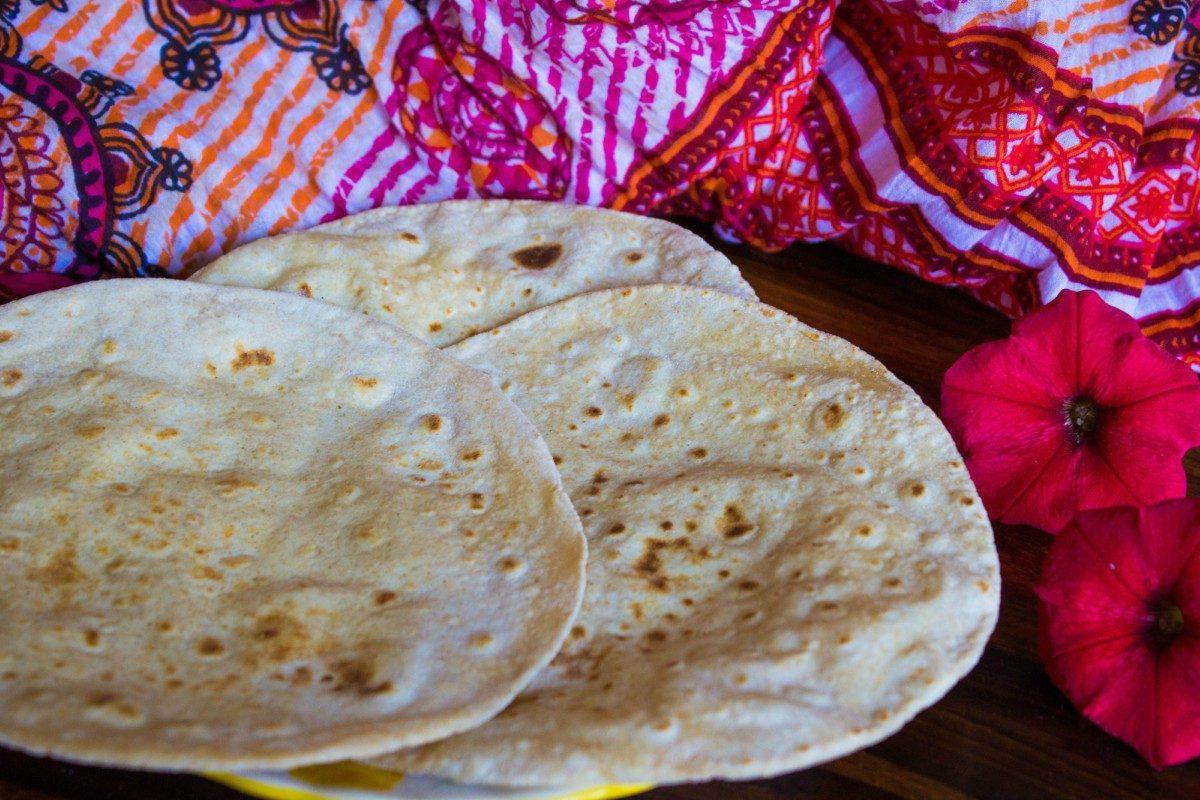 Chapati: la ricetta originale del pane indiano
