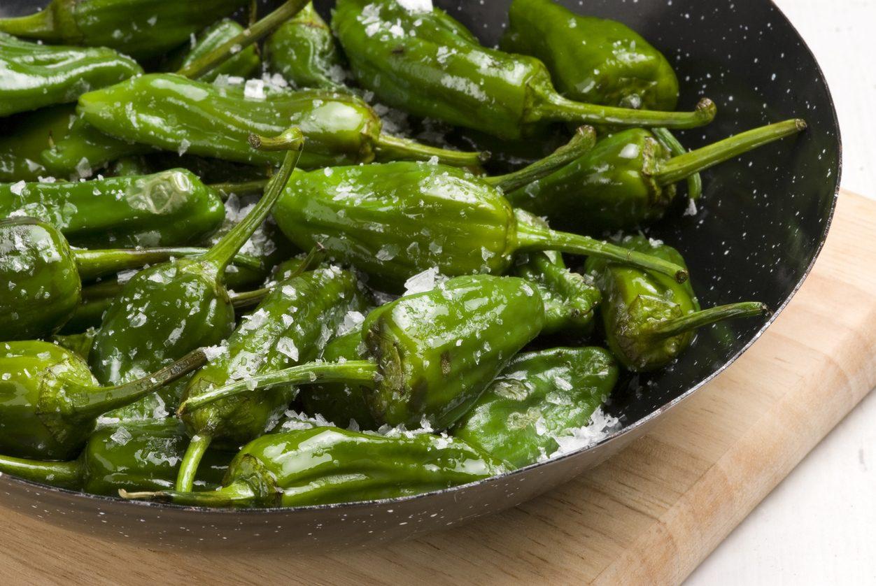 Peperoni verdi al forno   Buttalapasta