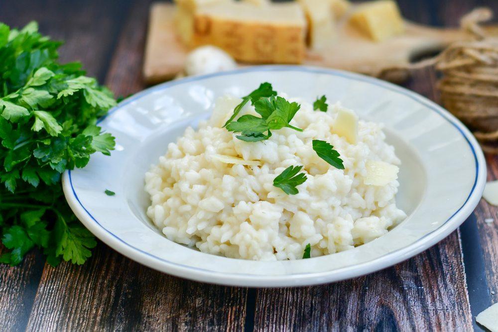 Risotto alla parmigiana: la ricetta tradizionale