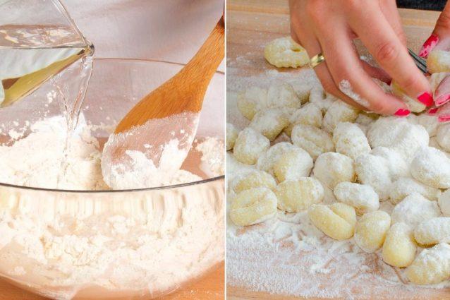 Ricetta Per Fare Gnocchi Con Patate.Gnocchi Di Farina La Ricetta Facile E Veloce Senza Patate