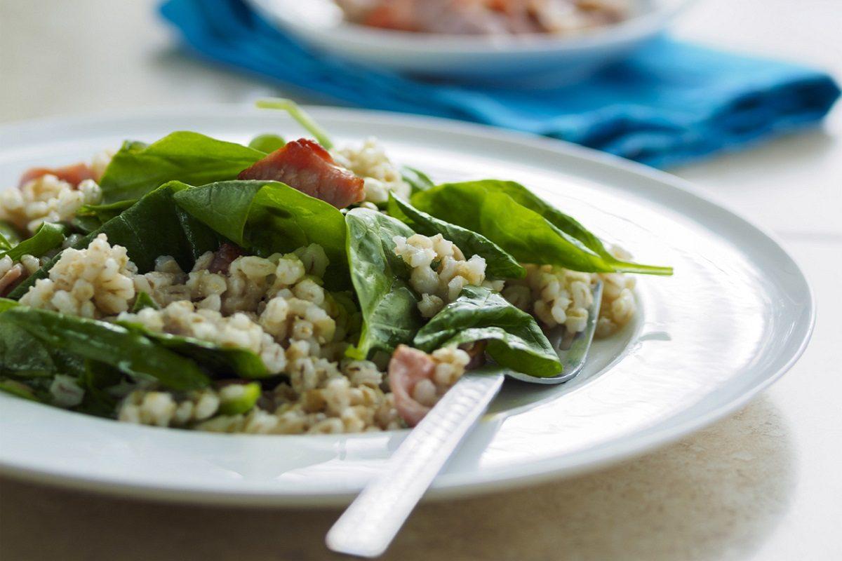 Insalata di orzo e salmone: la ricetta del primo piatto estivo da gustare in spiaggia