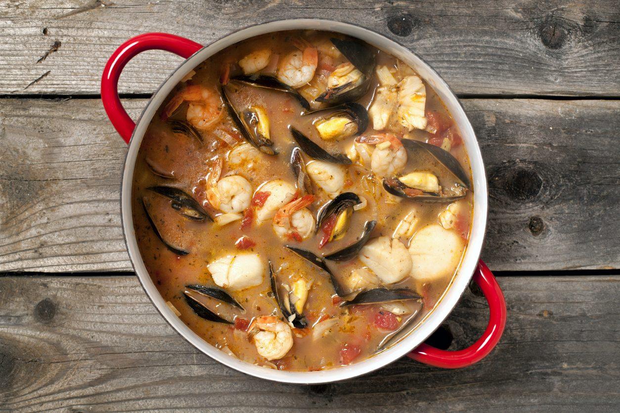 Zuppa di pesce: la ricetta semplice