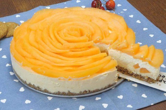 cheesecake al melone ricetta
