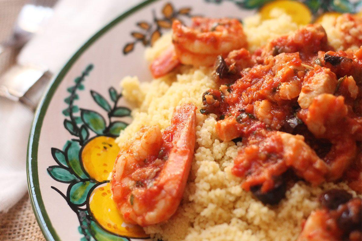 Cous cous di pesce: la ricetta alla trapanese