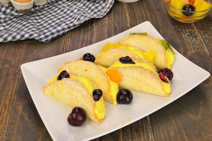 Tacos dolci: la ricetta del dessert goloso e colorato