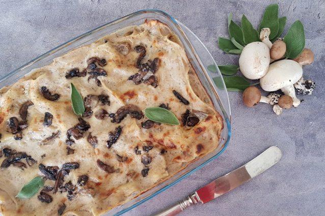 Lasagne ai funghi: la ricetta del primo per l'autunno gustoso e facile