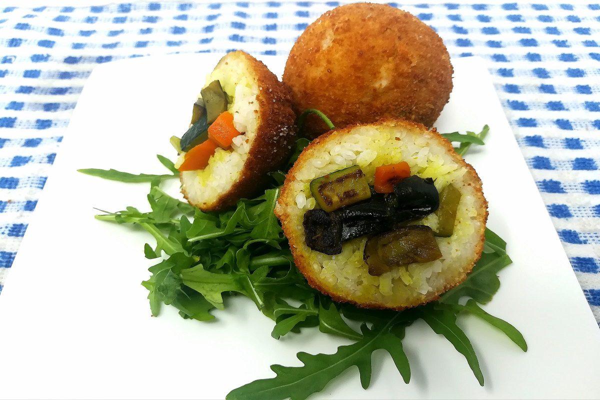 Arancini di verdure: la ricetta semplice con ragù di verdure