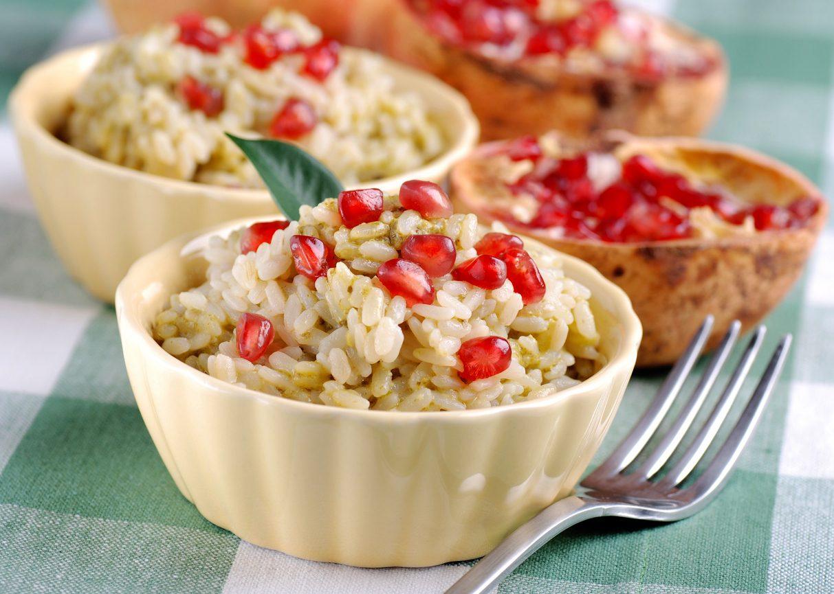 Risotto al melograno: la ricetta facile per un primo autunnale