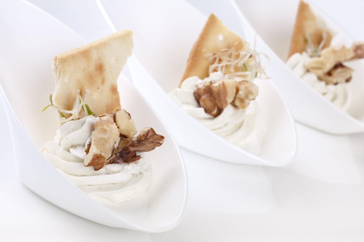 Mousse di gorgonzola: la ricetta facile della spuma per l'antipasto perfetto