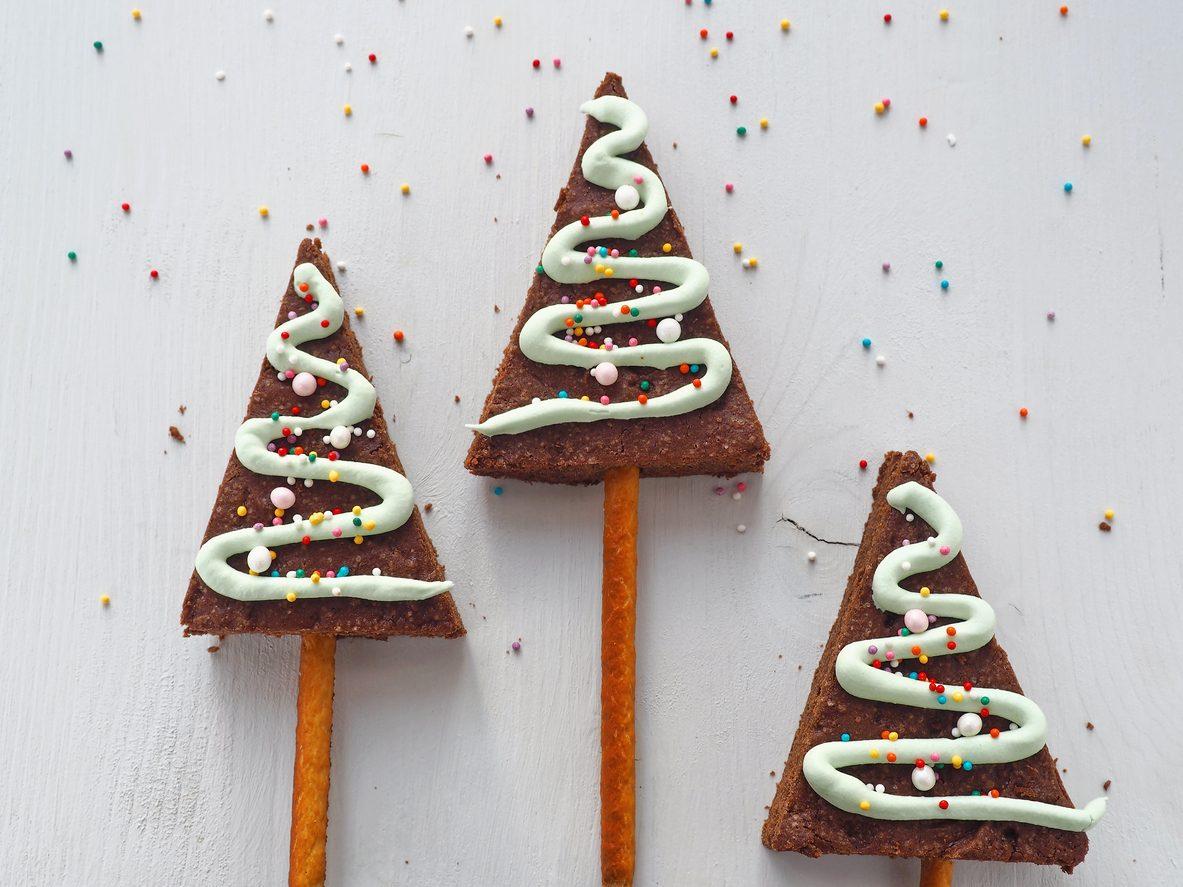 Alberi di Natale brownies: la ricetta dei dessert monoporzione semplici e deliziosi