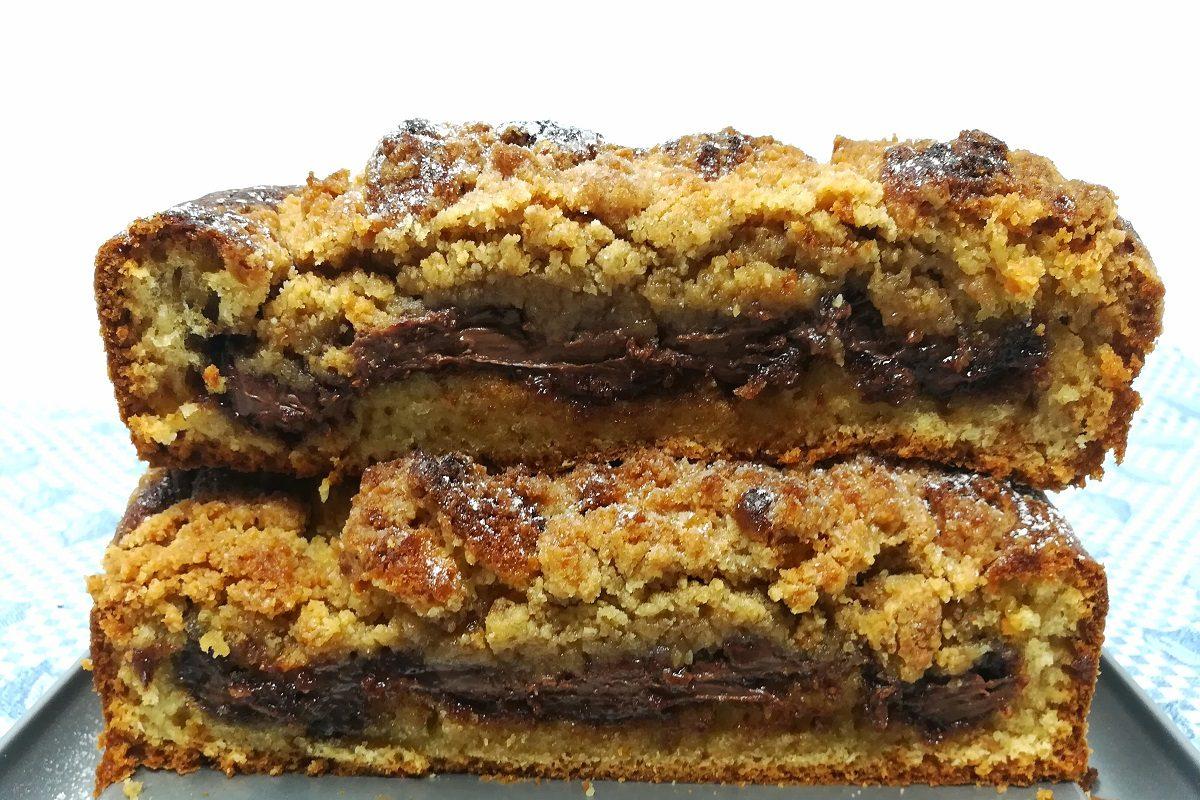 Crumb cake al cioccolato: la ricetta perfetta del goloso dolce newyorkese
